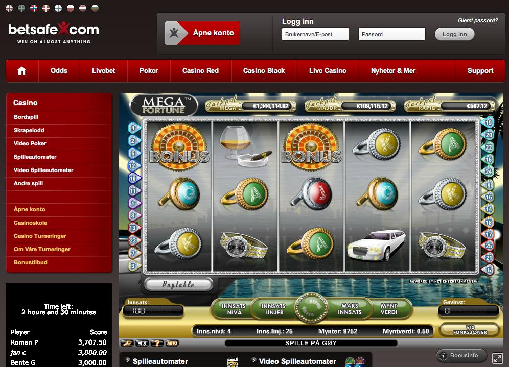 Casino bonus inga veckans