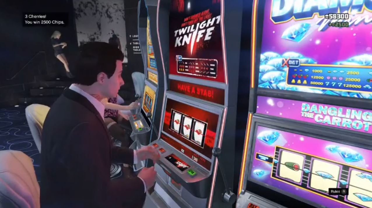 Virtual slot machine 76990