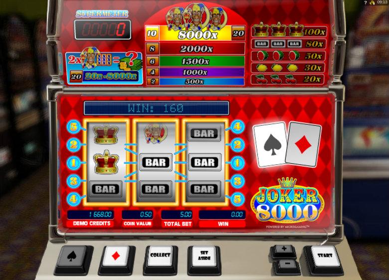 Spelautomat cash Joker tropical