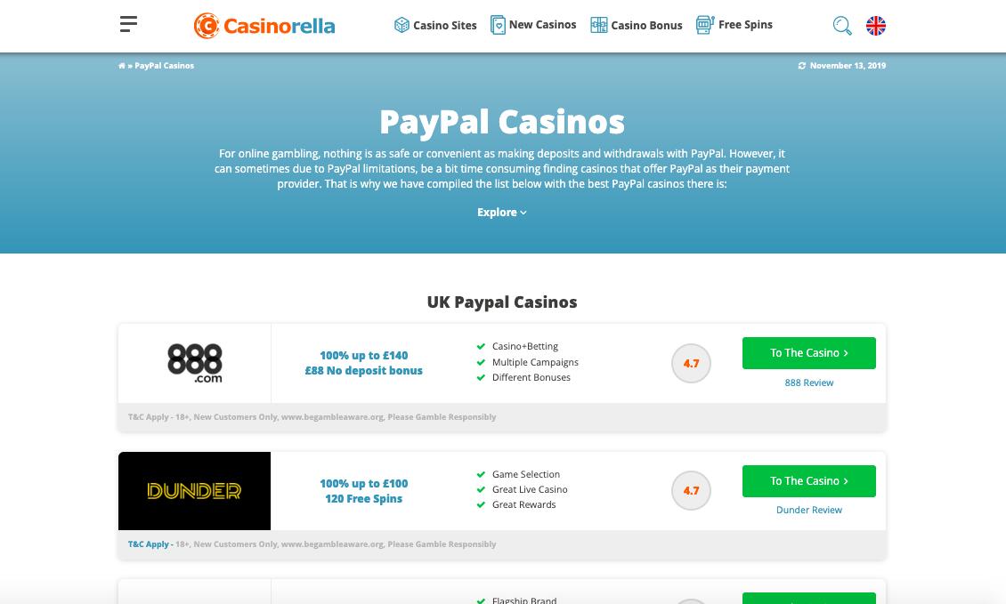 Spela casino utan funktionen