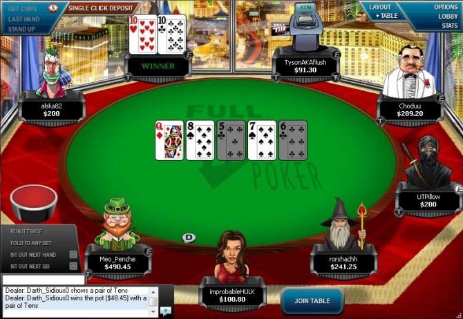 Full tilt poker Blueprint vilka