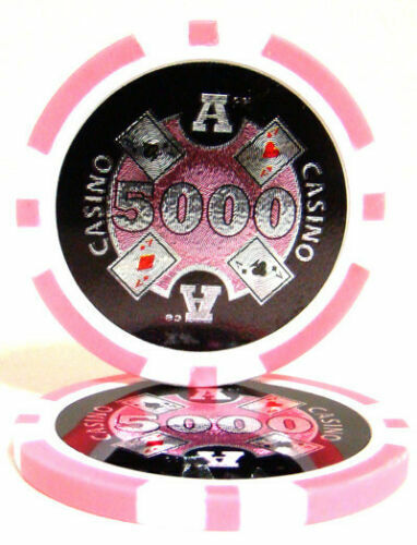 Poker chips Guns N strategy