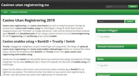 Registrering med Bank tarjoavat