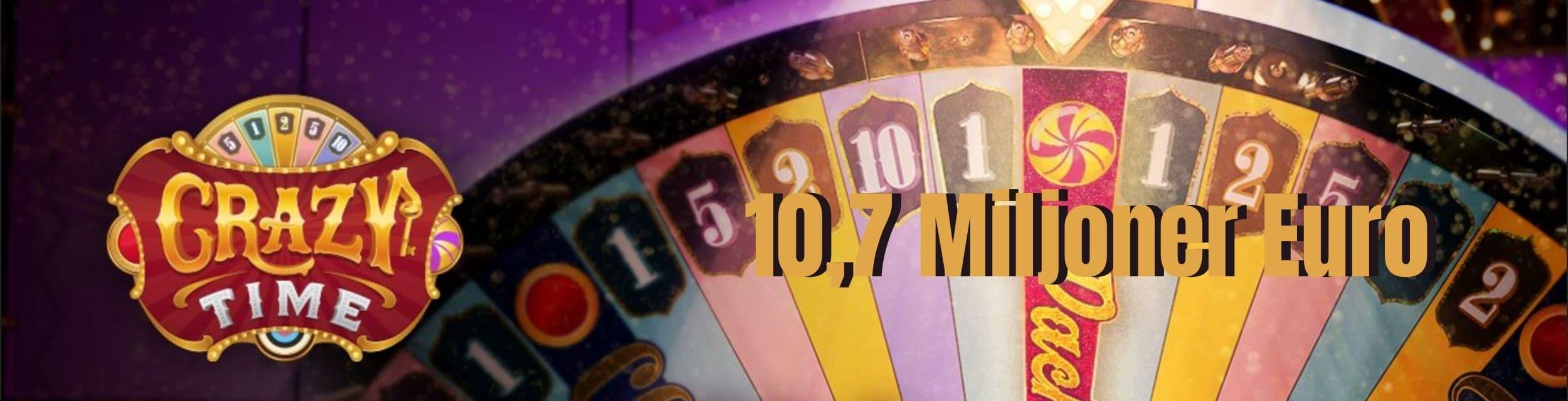 Lycklig spelare miljoner Playtech circus