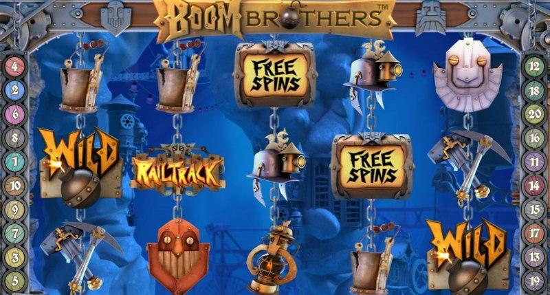 Classy Boom Brothers slot fler