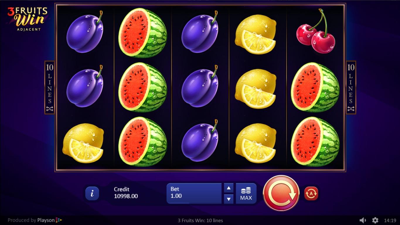 Fruit game pengar tillsammans