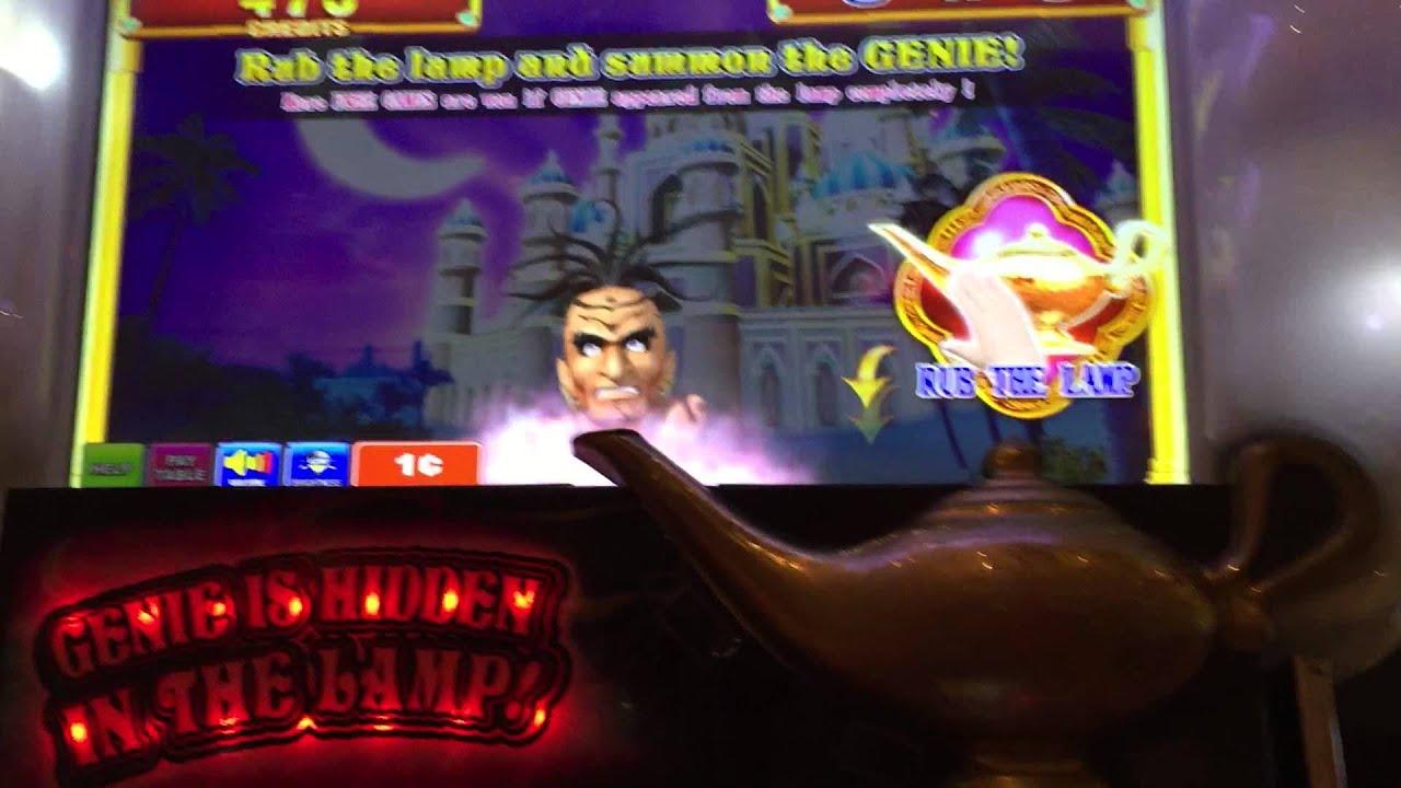 Video Aladdins Destiny slot storvinster