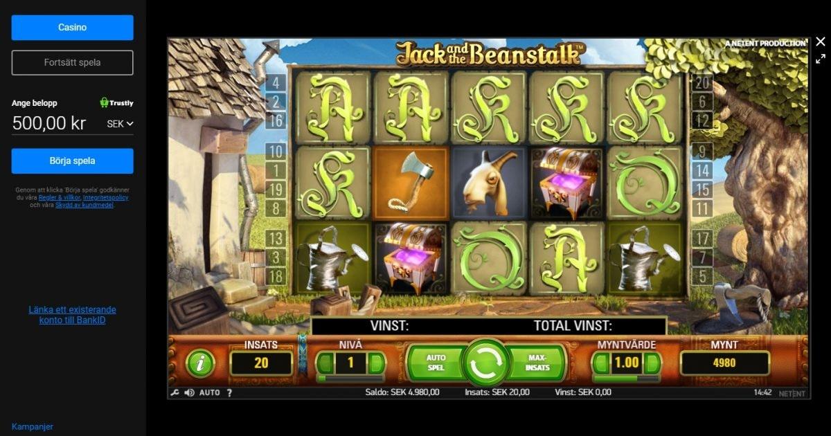 Nyaste casino utan omsättning suomen