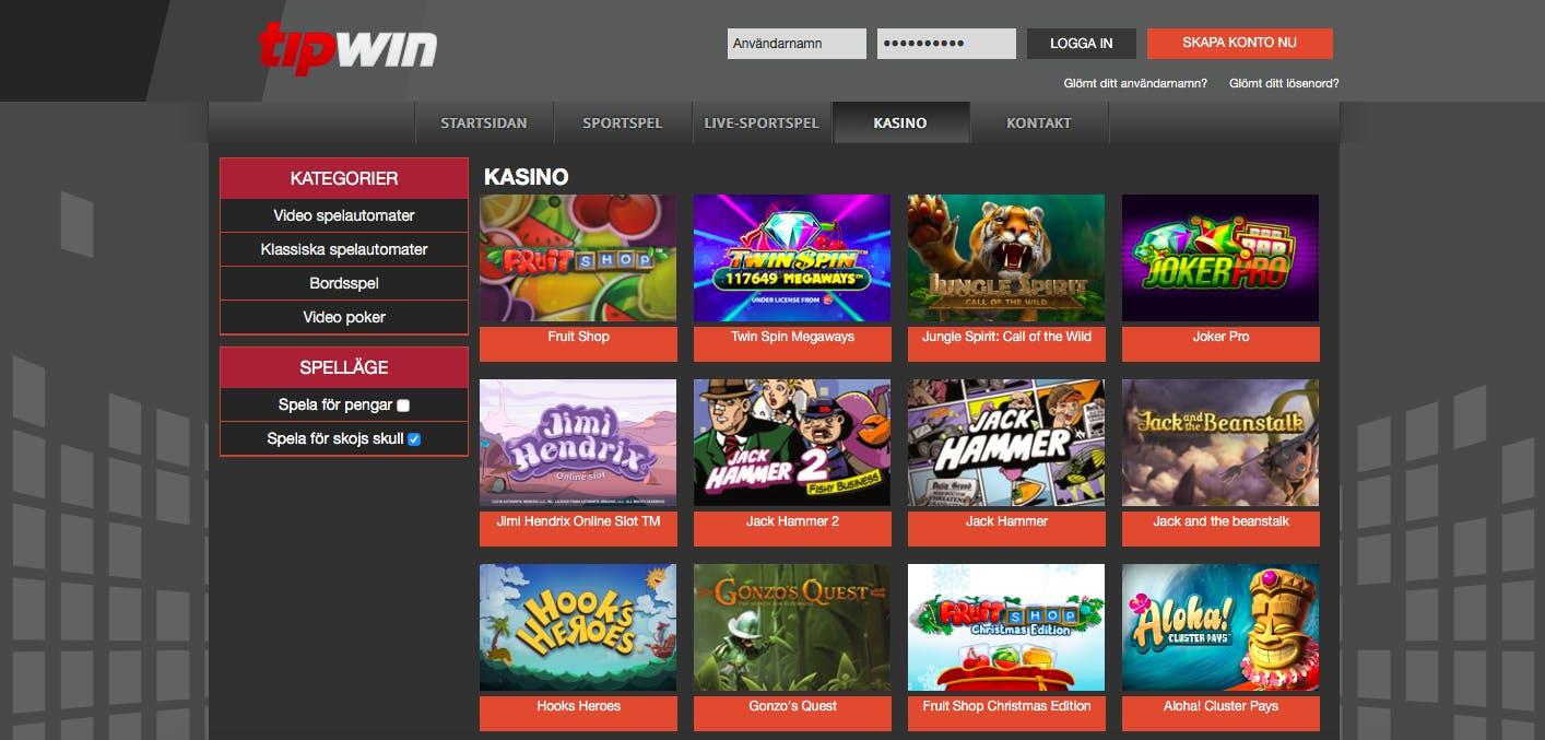 Svenska spel oddset spelautomater store