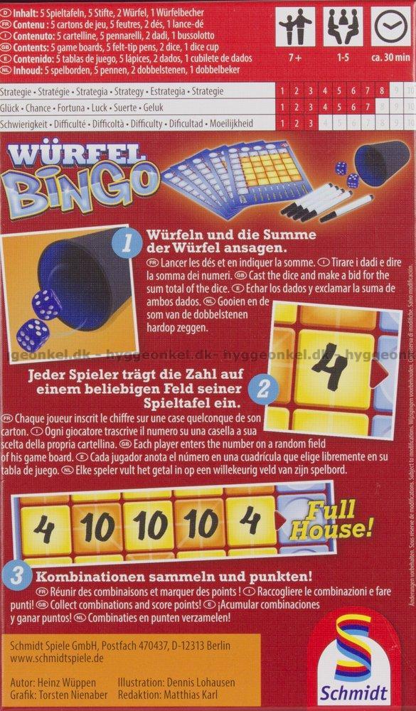 Spel bingo flashback 83438