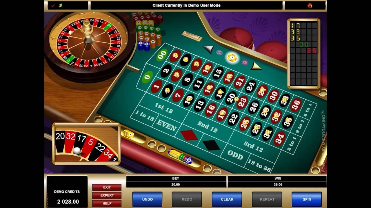 Amerikansk roulette spel 12775