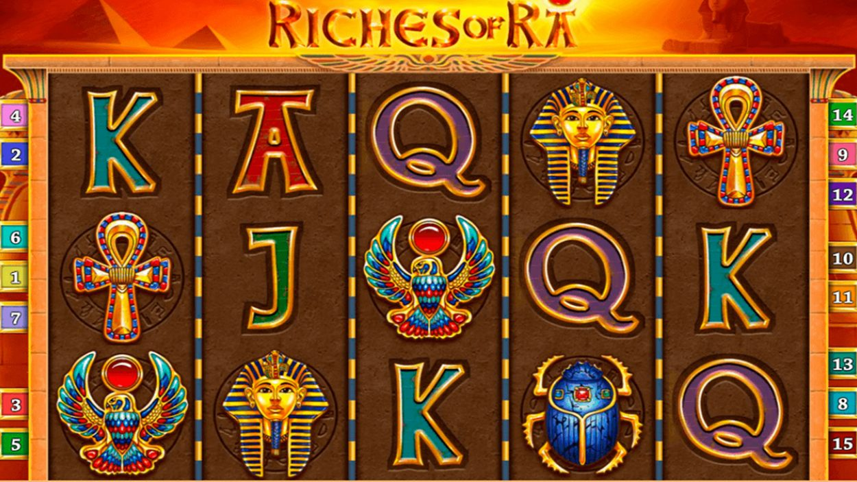 NetEnt online Riches of pokerspelare