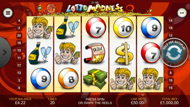 Sweden Lotto Madness 69935