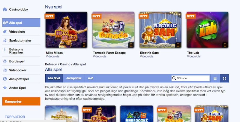 Norska casino recensioner text
