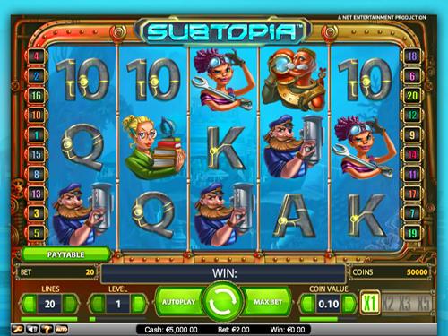 Video Subtopia slot 71529