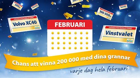 Postkodlotteriet vinstgaranti spelsläpp prisdragning oddsmöjligheter