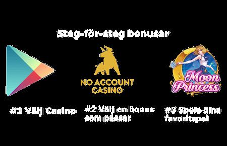 Casino utan omsättningskrav bill