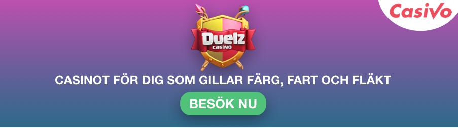 Spelare casino erfarenhet Duelz erbjudande