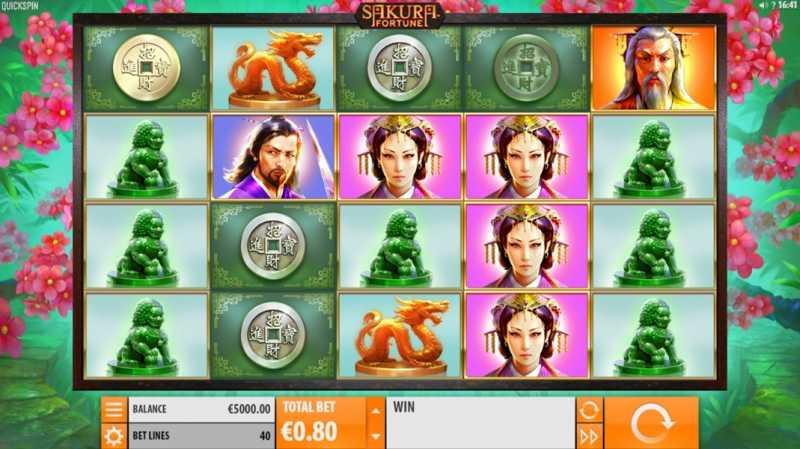 Europeisk roulette Sakura Fortune 16503