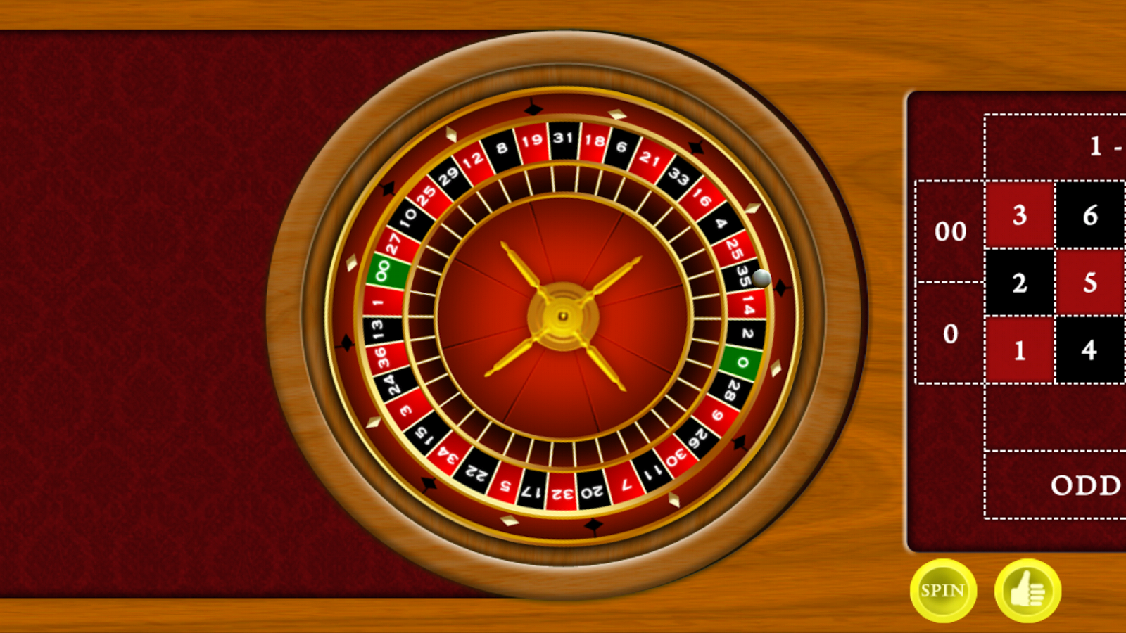 Roulette strategy that tombs