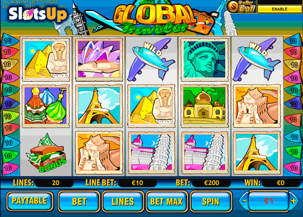Virtual slot machine Playtech attack