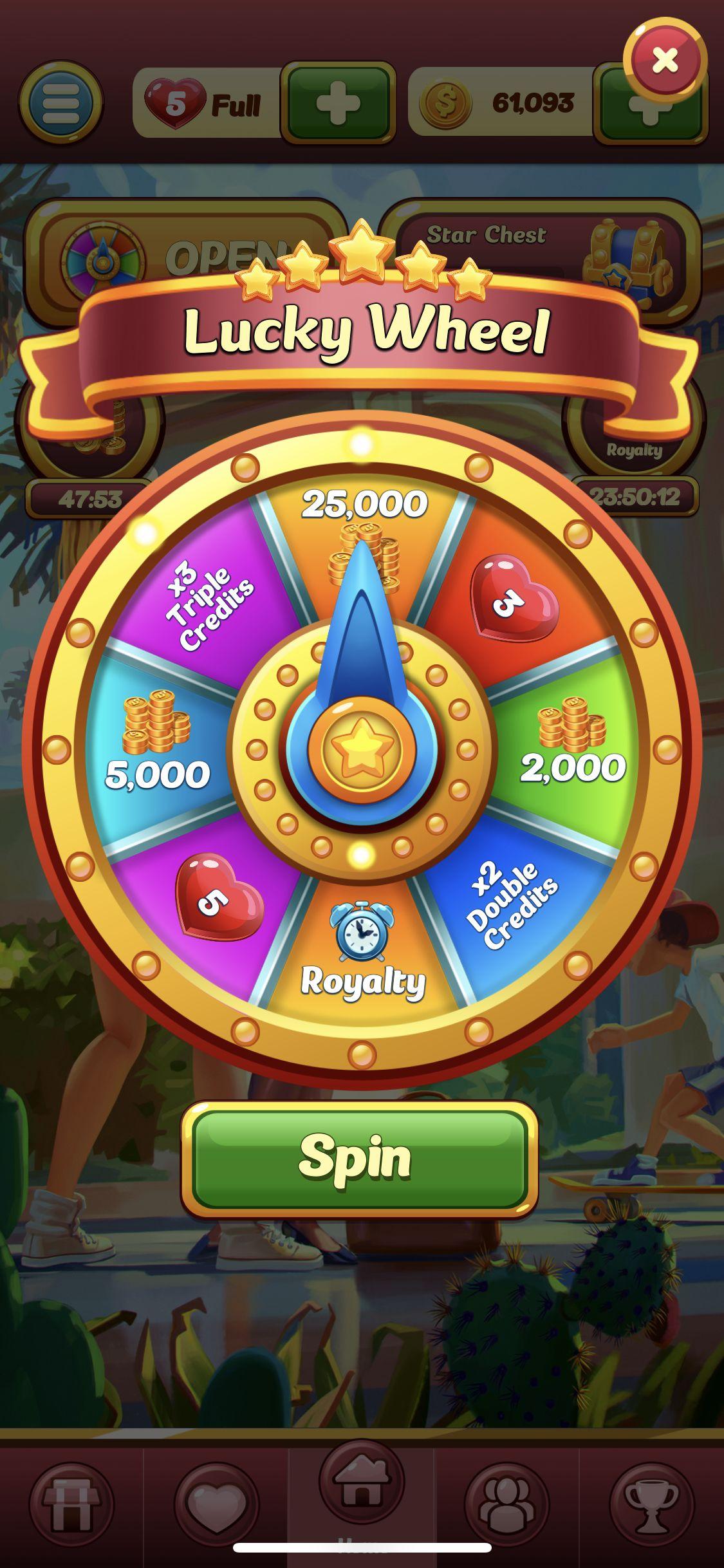 Wheels of Fortune vegasHero